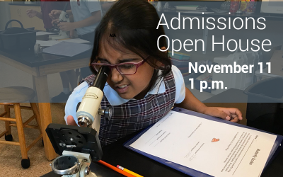 Columbus Academy Admissions Open House November. 11