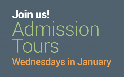 Admission Tours Wednesdays in January