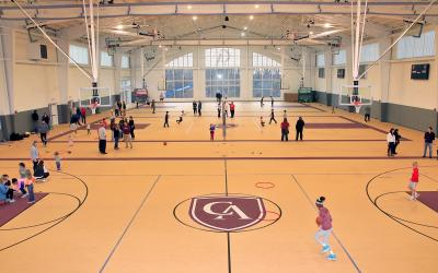 New Columbus Academy Field House