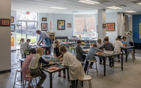 Lower School Art Room