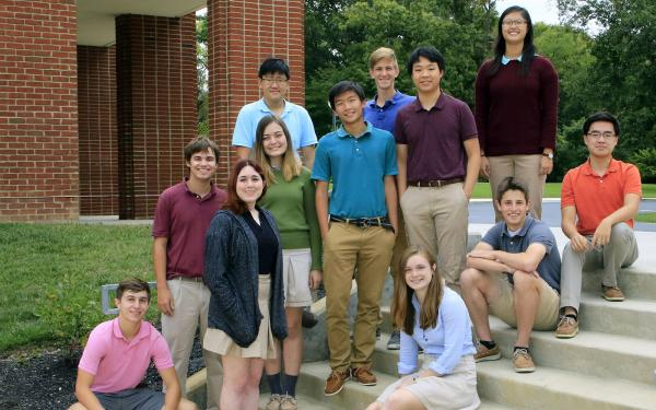 Photo of Columbus Academy's 2018 National Merit Semifinalists