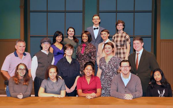 Fall Play Cast Photo