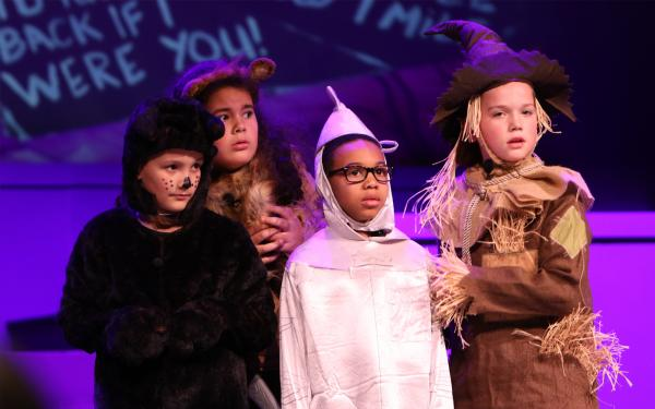 Academy students perform in the fourth grade musical