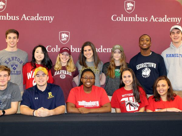 College Signees Group Photo