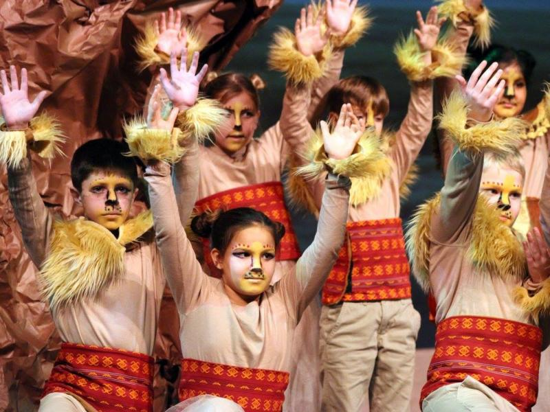 Lower school lion king play