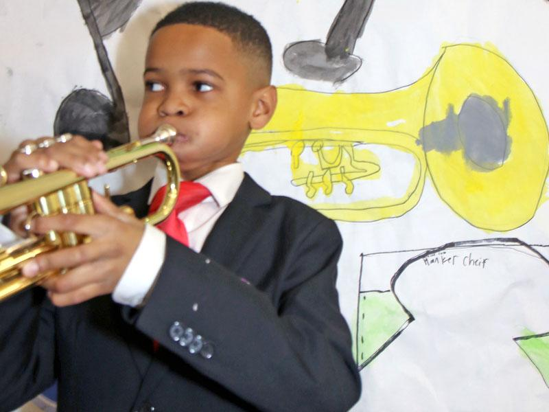 Wax museum project_Louis Armstrong